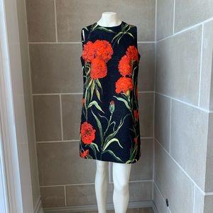 Dolce & Gabbana Floral Brocade Sheath Dress
